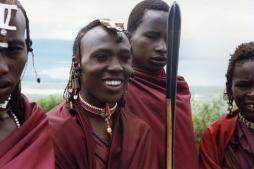 masai-youths-at-the-rim-of-ngorongoro-crater-tanzania