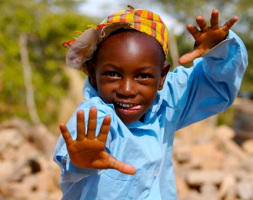 Smiling Tribal Boy